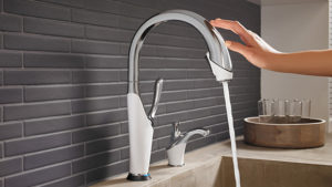 Hands Free Bathroom Faucets