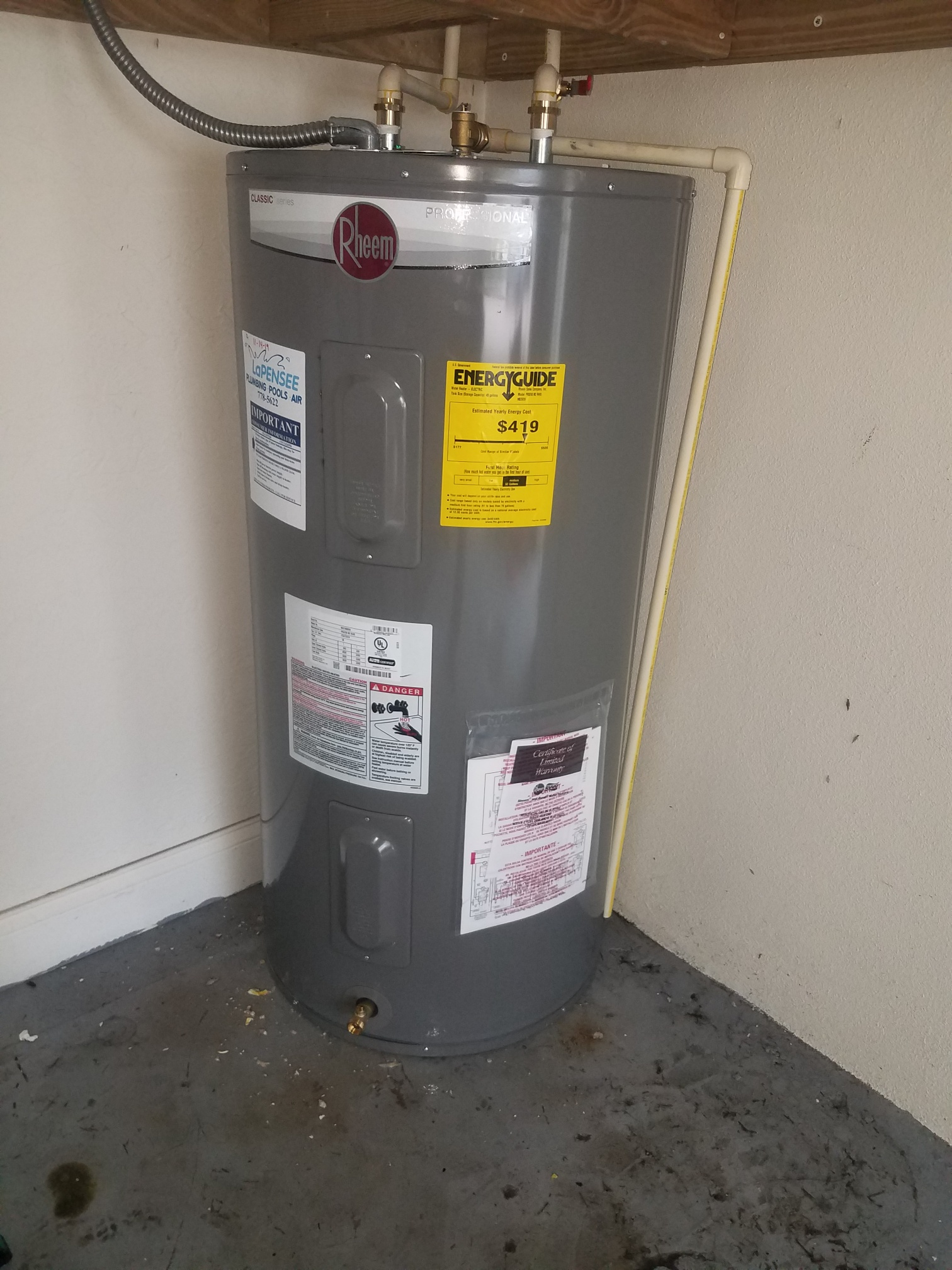 Replace your Hot Water Heater